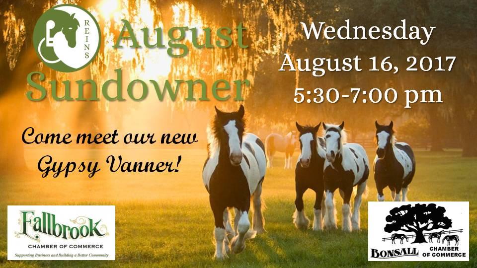 August Sundowner Website