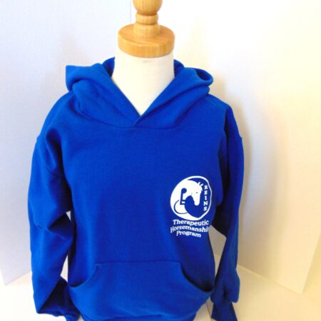 royal blue hoodie front
